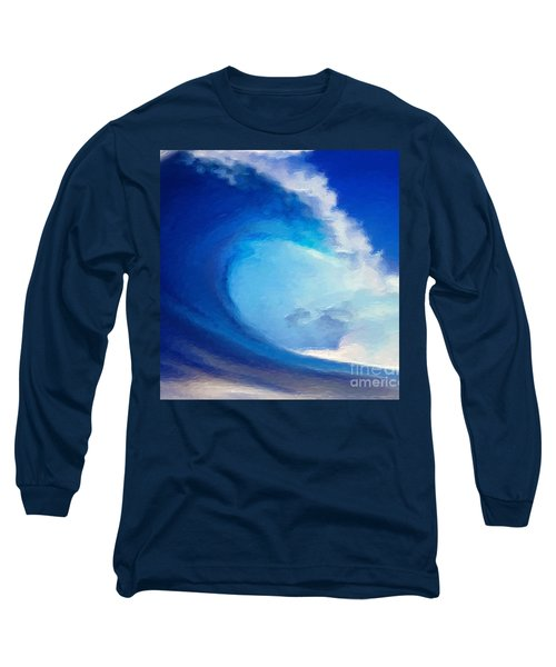 Fluid Long Sleeve T-Shirt by Anthony Fishburne