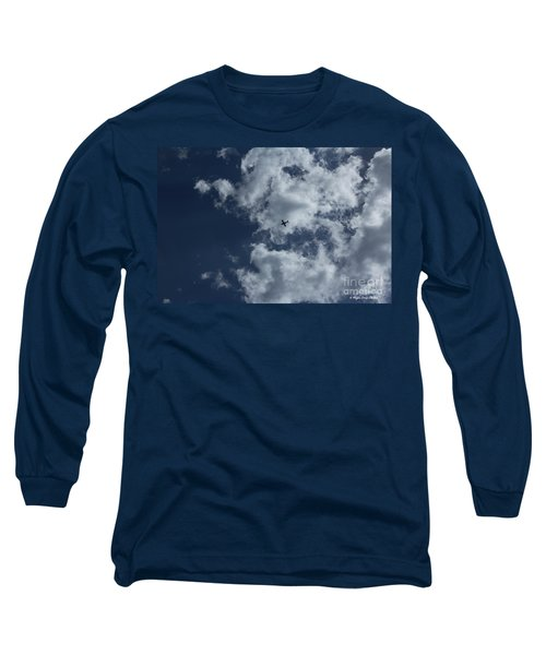 Long Sleeve T-Shirt featuring the photograph Fly Me To The Moon by Megan Dirsa-DuBois