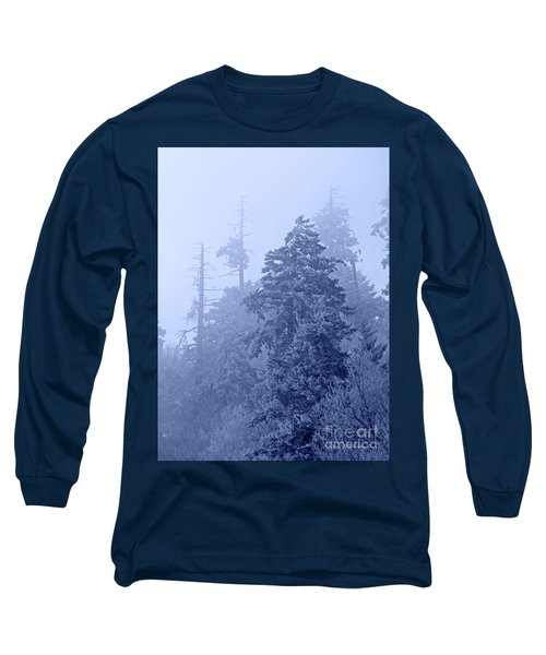 Long Sleeve T-Shirt featuring the photograph Fog On The Mountain by John Stephens