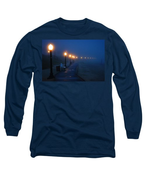Foggy Boardwalk Blues Long Sleeve T-Shirt