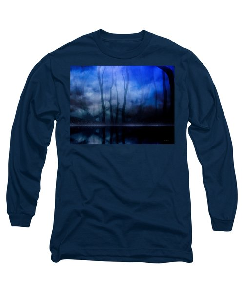 Foggy Night Long Sleeve T-Shirt by Gabriella Weninger - David