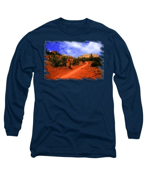 Follow Me Long Sleeve T-Shirt by Mark Myhaver