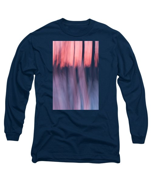 Forest Abstract Long Sleeve T-Shirt