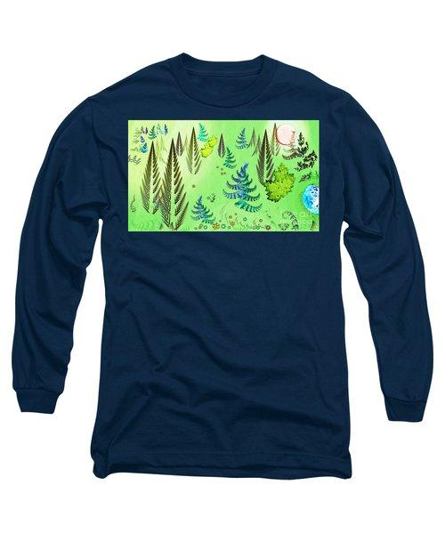Forest Landscape Long Sleeve T-Shirt
