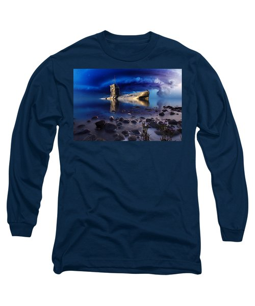 Forgotten In No Man's Land Long Sleeve T-Shirt by Gabriella Weninger - David