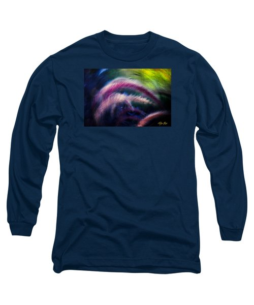 Long Sleeve T-Shirt featuring the photograph Foxtails In Shadows by Rikk Flohr