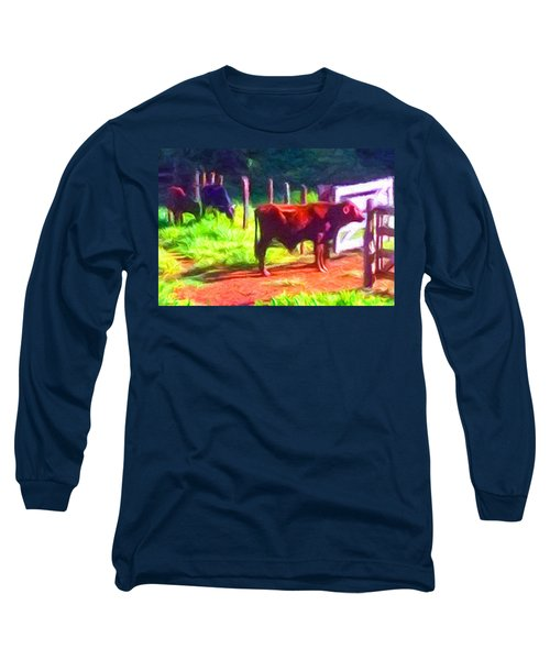 Franca Cattle 2 Long Sleeve T-Shirt