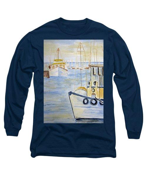 Fremantle Western Australia Long Sleeve T-Shirt by Elvira Ingram