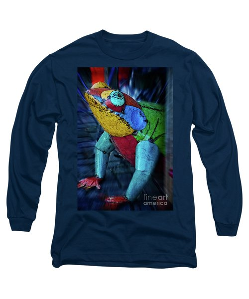 Long Sleeve T-Shirt featuring the photograph Frog Prince by Mary Machare