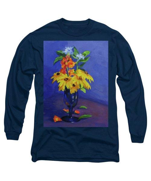 From The Garden Long Sleeve T-Shirt by Karen Ilari