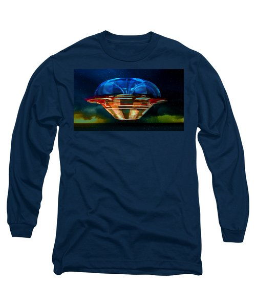 From The Heavans  Long Sleeve T-Shirt by David Lee Thompson