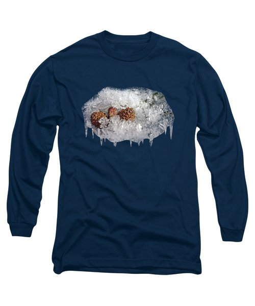 Frosty Bed Long Sleeve T-Shirt by AugenWerk Susann Serfezi