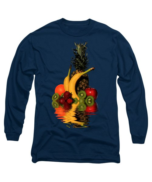Fruity Reflections - Dark Long Sleeve T-Shirt by Shane Bechler