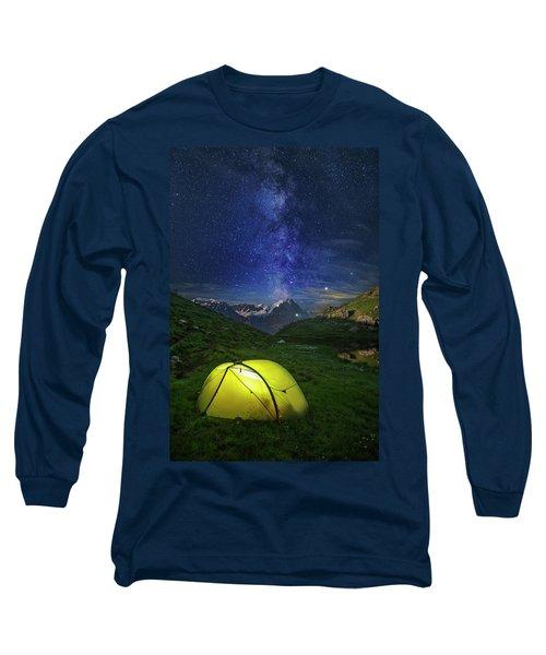Galactic Eruption Long Sleeve T-Shirt