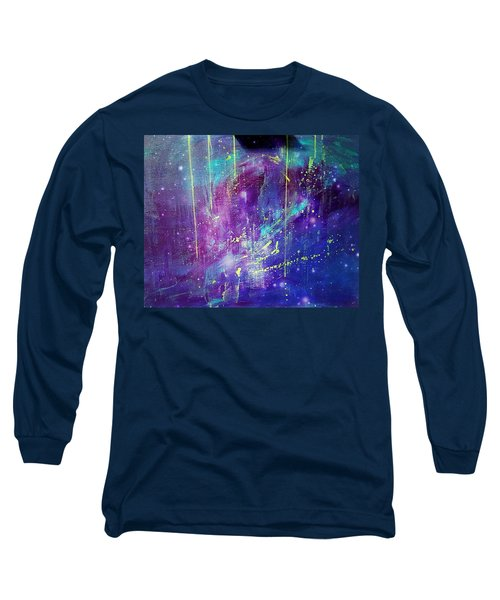 Galaxy In Motion Long Sleeve T-Shirt