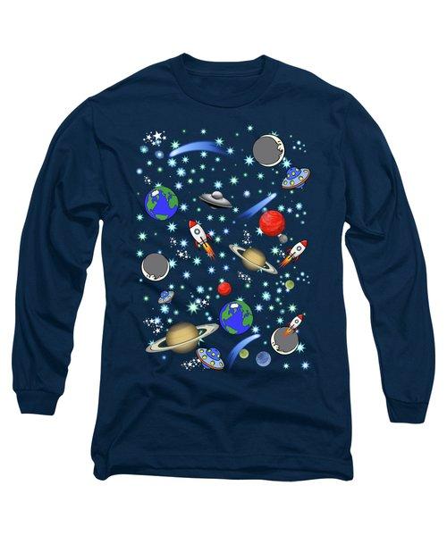 Galaxy Universe Long Sleeve T-Shirt