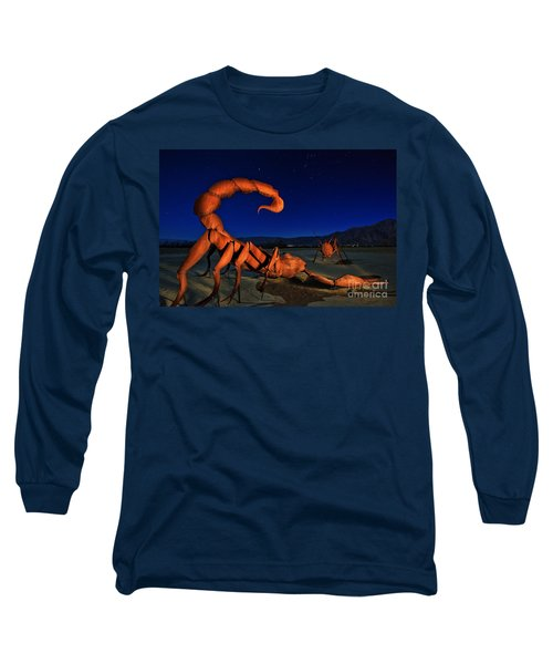 Galleta Meadows Estate Sculptures Borrego Springs Long Sleeve T-Shirt
