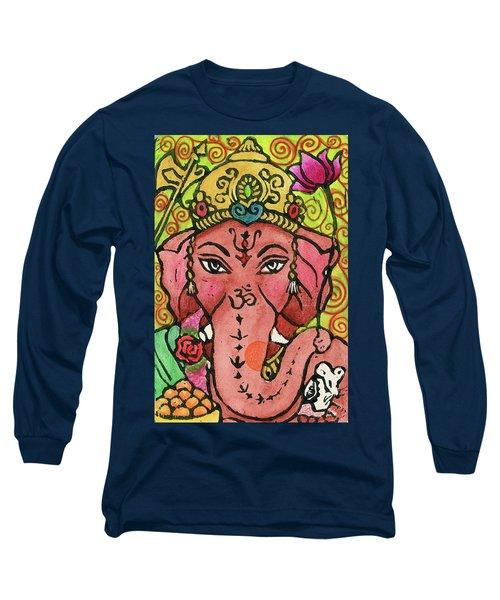 Ganesha Portrait Long Sleeve T-Shirt