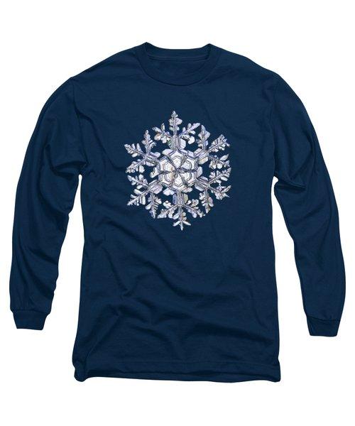 Gardener's Dream, White On Black Version Long Sleeve T-Shirt