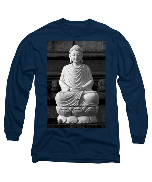 Gautam Buddha Long Sleeve T-Shirt