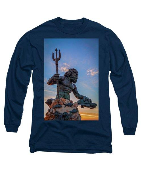 Gaze I Long Sleeve T-Shirt by David Cote
