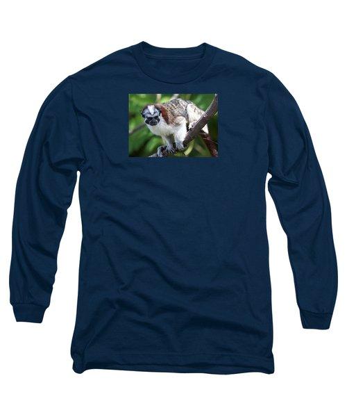 Geoffroy's Tamarin Saguinus Geoffroyi Long Sleeve T-Shirt