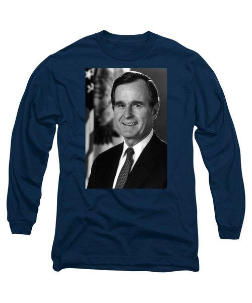 George Bush Sr Long Sleeve T-Shirt