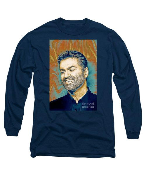 George Michael - Tribute  Long Sleeve T-Shirt