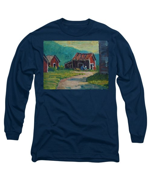 Getting Ready For Winter Long Sleeve T-Shirt