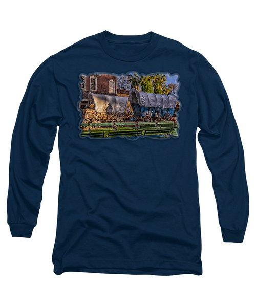Ghost Of Old West No.1 Long Sleeve T-Shirt