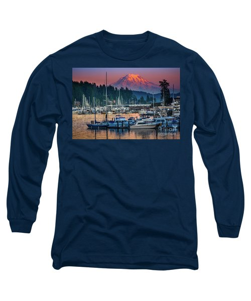 Gig Harbor Dusk Long Sleeve T-Shirt