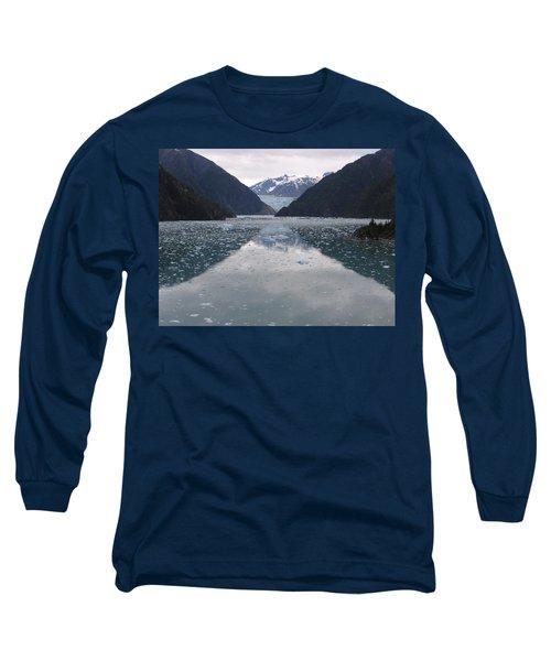 Glacier Blues Long Sleeve T-Shirt