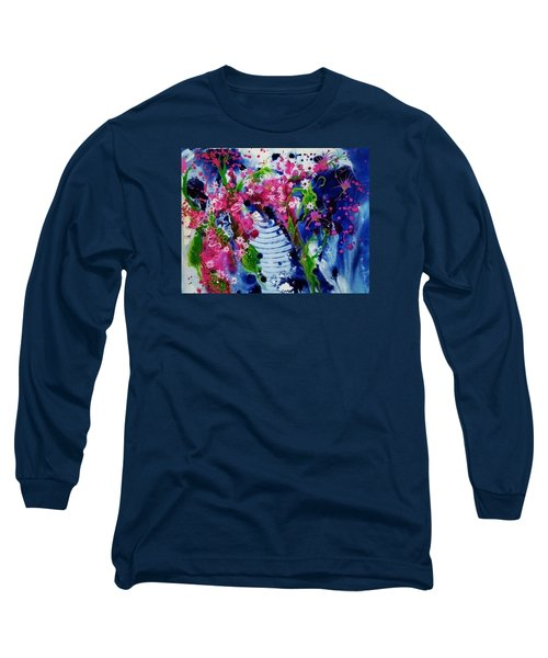 Gladys Delights Long Sleeve T-Shirt by Susan Curtin