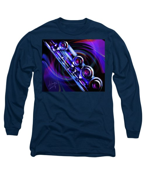 Glassical Flute Long Sleeve T-Shirt by DC Langer