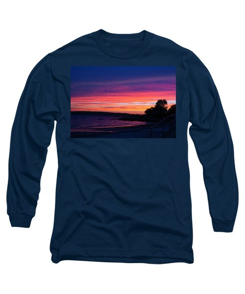 Gloucester Harbor Beach Long Sleeve T-Shirt