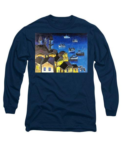 Glouchester Harbor Long Sleeve T-Shirt
