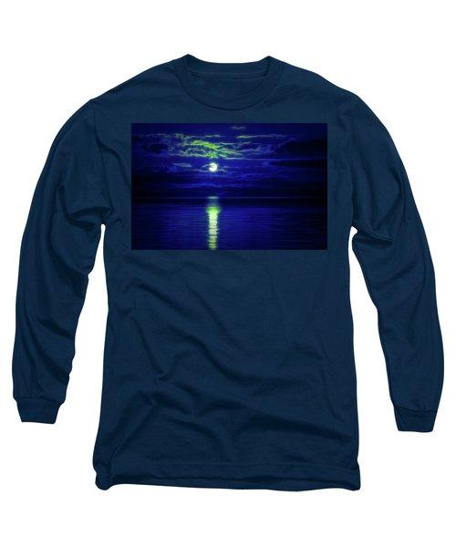 Glow In The Dark Amazing Sunset  Long Sleeve T-Shirt