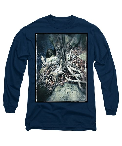 Gnarled Rooted Beauty Long Sleeve T-Shirt by Jason Nicholas