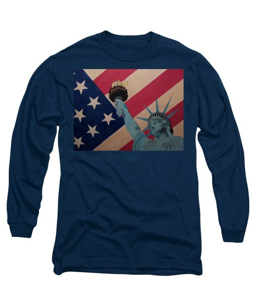 God Bless The Usa Long Sleeve T-Shirt