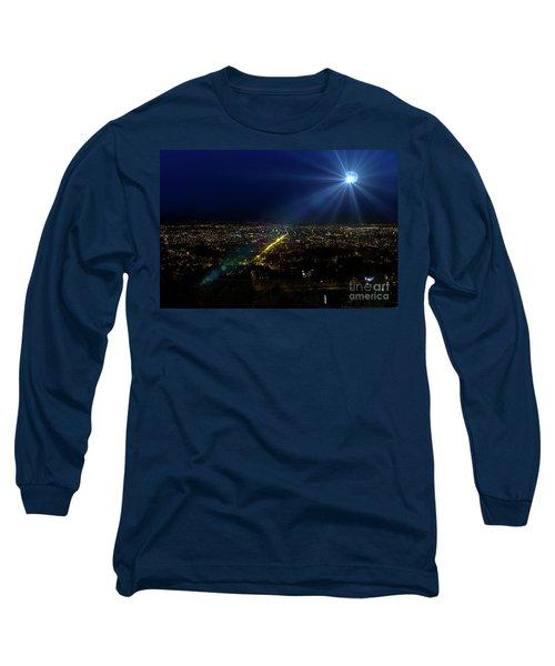 God Loves Cuenca Long Sleeve T-Shirt