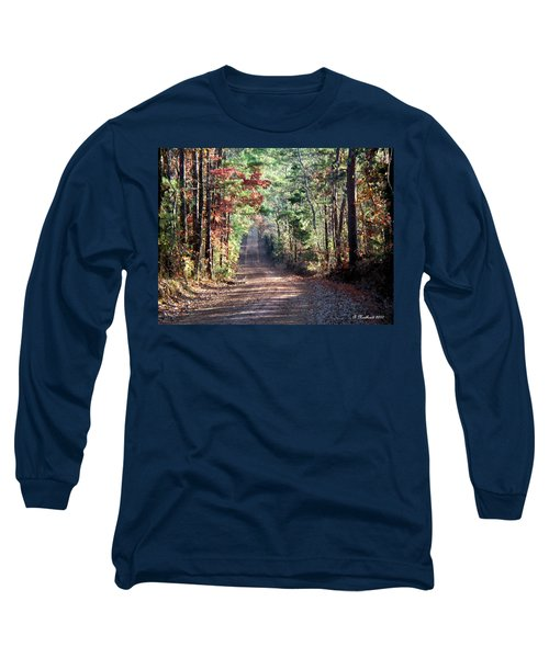 Long Sleeve T-Shirt featuring the photograph Going Home by Betty Northcutt