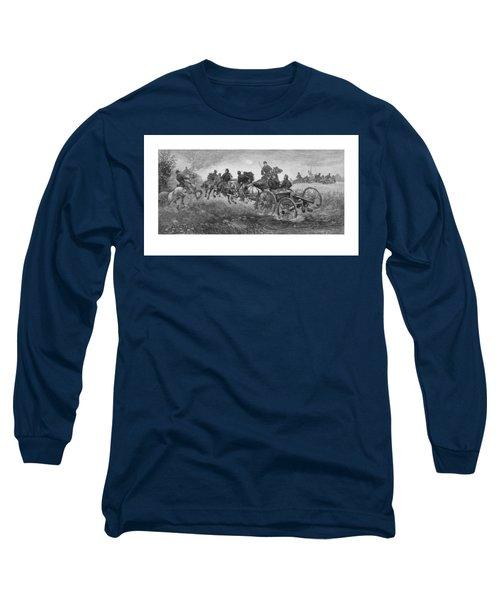 Going Into Battle - Civil War Long Sleeve T-Shirt