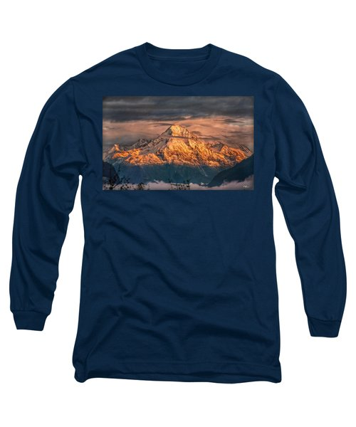 Golden Evening Sun Long Sleeve T-Shirt by Hanny Heim