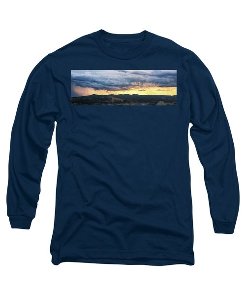 Golden Hour In Volterra Long Sleeve T-Shirt