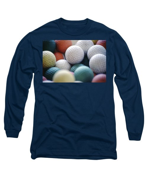 Golf Balls Long Sleeve T-Shirt
