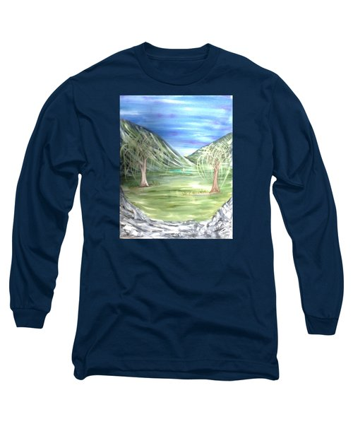 Golfing In Glacier Long Sleeve T-Shirt