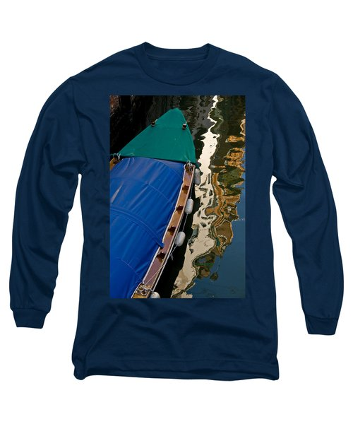 Gondola Reflection Long Sleeve T-Shirt by Harry Spitz