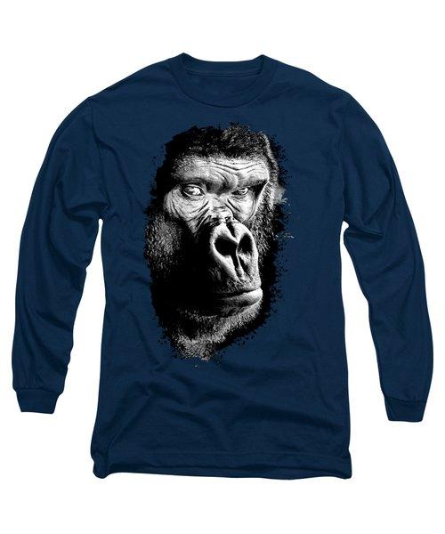 Gorilla Canvas Print, Photographic Print, Art Print, Framed Print, Greeting Card, Iphone Case, Long Sleeve T-Shirt