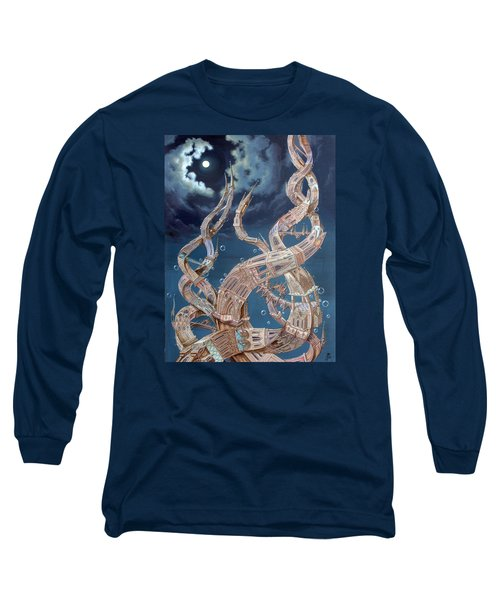 Gothic Genome Long Sleeve T-Shirt