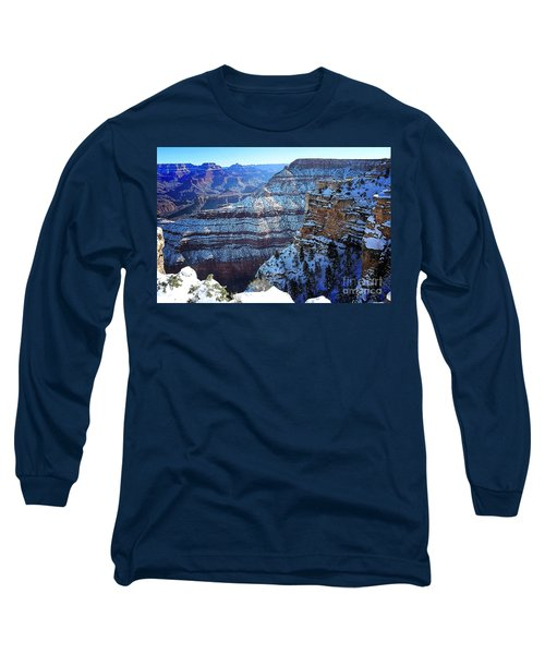 Grand Canyon National Park In Winter Long Sleeve T-Shirt